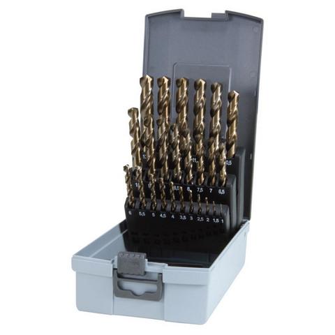 RUKO Porasarja 1-13mm HSS Co5 25-os DIN338, 215215RO