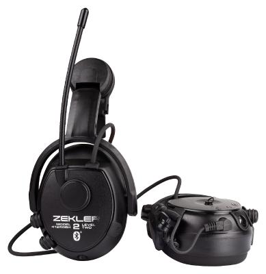 Zekler 412RDBH Kuuleva radiokuulonsuojain Bluetooth, kypäräkiinnitys