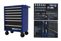 Boxo Classic Työkaluvaunu työkaluilla 143-osaa