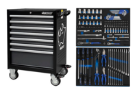 Boxo 7071A Työkaluvaunu työkaluilla 143-osaa
