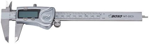 BOXO Työntömitta Digitaalinen IP54 Mittausala 150 mm