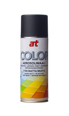 AT Spraymaali matta musta 520ml, 1100