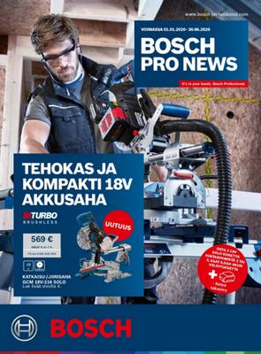 Bosch PRO NEWS 2020 on ilmestynyt, kampanja alkaa!
