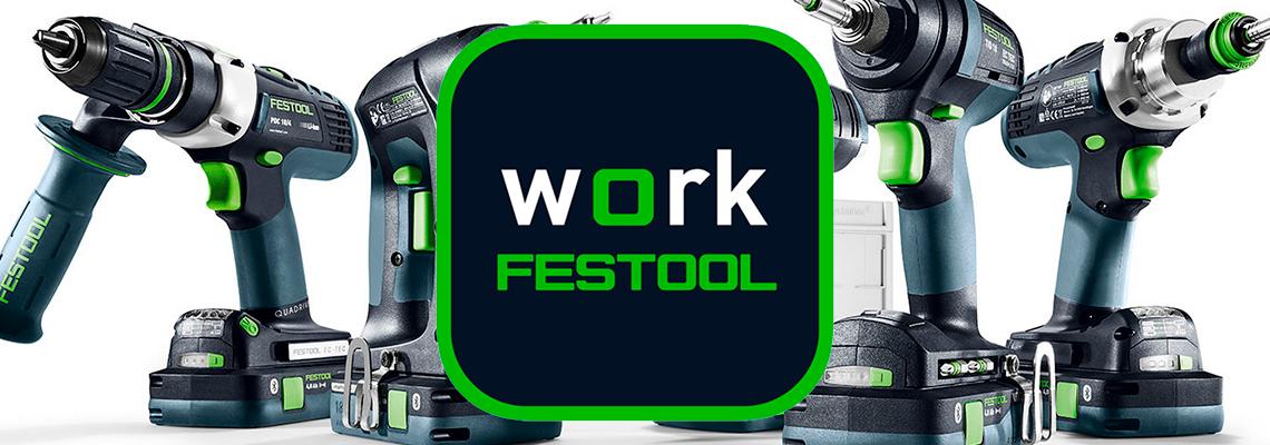 Festool Work -sovellus