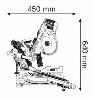Bosch GCM 8 SDE Katkaisu- ja Jiirisaha