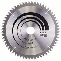 Bosch Pyörösahanterä 216x1,4/2,0x30mm Z60 Optiline Wood 2608640433