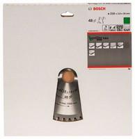 Bosch Pyörösahanterä 216x1,8/2,8x30mm Z48 Optiline Wood 2608640641