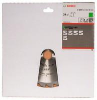 Bosch Pyörösahanterä 216x1,4/2,0x30mm Z24 Optiline Wood 2608640431