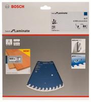 Bosch Pyörösahanterä 216x1,8/2,5x30mm Z60 Best for Laminate 2608642133