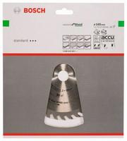 Bosch Pyörösahanterä 165x1,2/1,7x20mm Z36 Optiline Wood 2608642602