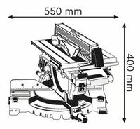 Bosch GTM 12 JL Yhdistelmäsaha