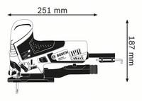 Bosch GST 90 E Pistosaha 650W