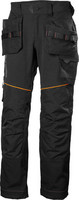 Helly Hansen 77441 Chelsea Evolution Construction riipputaskutyöhousut Musta