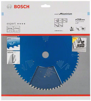 Bosch Pyörösahanterä 216x1,8/2,6x30mm Z60 Best for Aluminium 2608644110