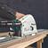 Makita DSP600ZJ Upotuspyörösaha 18V RUNKO + Ohjainkisko 1500mm