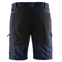 Blåkläder 1449-1845 Shortsit Stretch, Tumma sininen