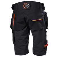 Helly Hansen 77443 Chelsea Evolution Construction shortsit Musta