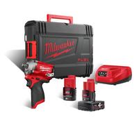 Milwaukee M12 FIWF12-422X Akkumutteriväännin 12V 4,0Ah + 2,0Ah