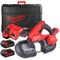Milwaukee M18 FBS85-202X Kompakti vannesaha 18V 2x2,0Ah