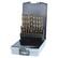 RUKO Porasarja 1-10mm HSS-Co5 19-os DIN338, 215214RO