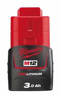 Milwaukee M12 B3 REDLITHIUM™ Akku 3,0 Ah