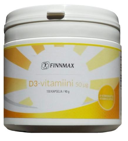 D3-vitamiini 50 µg 150kaps