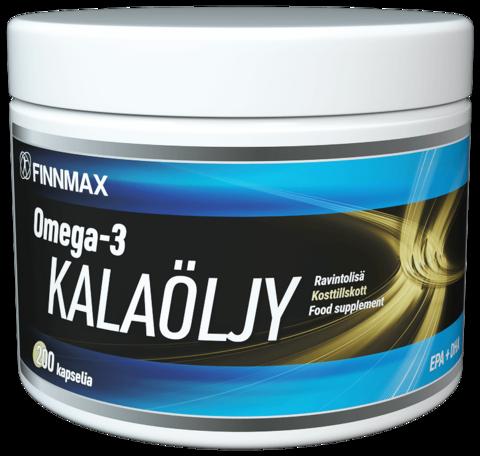 Omega 3 Kalaöljykapseli 200kpl