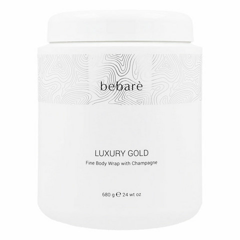 Bebaré Luxury Gold Fine Body Wrap with Champagne