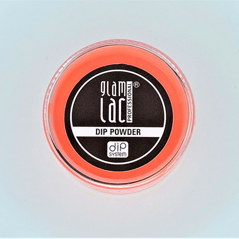 Glamlac Dip Powder Neon Orange