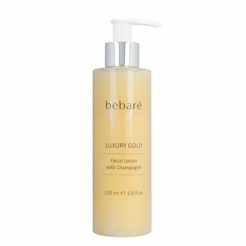 Luxury Gold Facial Lotion with Champagne 200ml