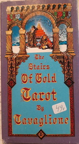 The Stairis of Gold Tarot by Tavglione