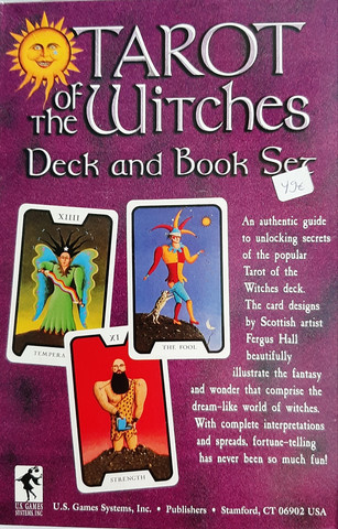 Tarot of the witches setti
