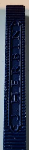 sinettivaha, sininen