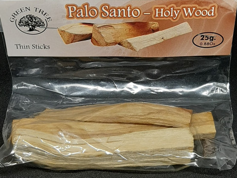 Palo Santo Holy Wood -puupalat 25g