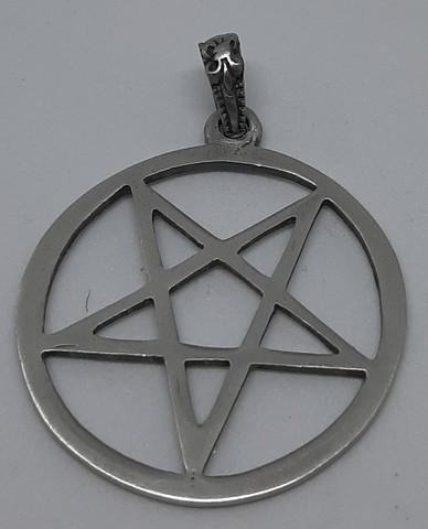Pentagram ympyrässä iso 6cm