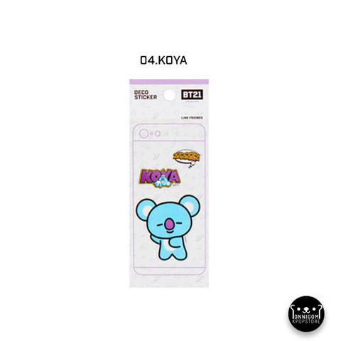 BT21 - MOBILE DECO STICKER VER. 2  - KOYA