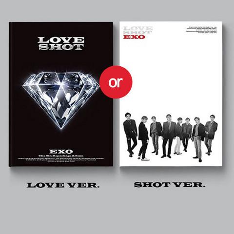 EXO - LOVE SHOT (5TH ALBUM REPACKAGE)