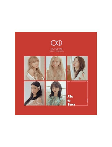 EXID - WE (5TH MINI ALBUM)