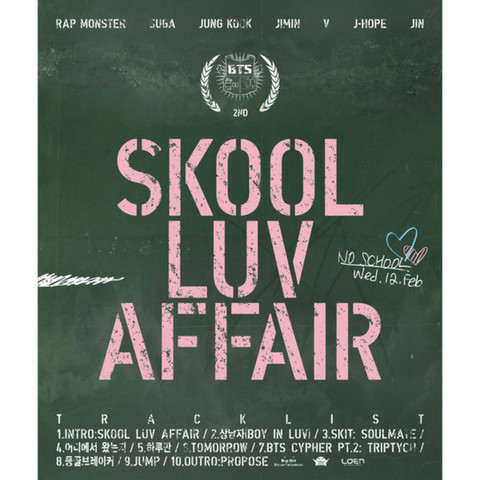 BTS - SKOOL LUV AFFAIR (2ND MINI ALBUM)