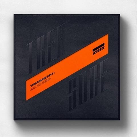 ATEEZ - TREASURE EP.1 : ALL TO ZERO (1ST MINI ALBUM)