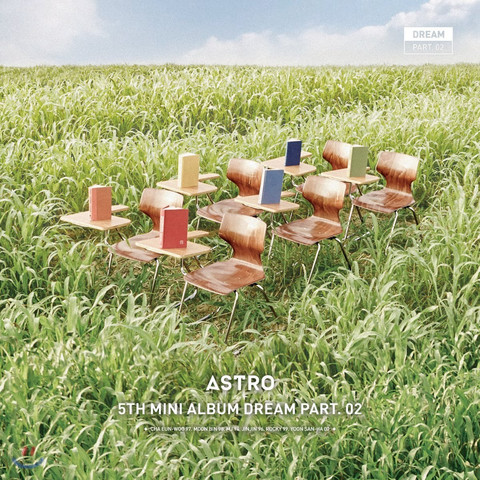 ASTRO - DREAM PART.02 (5TH MINI ALBUM) WIND VER.