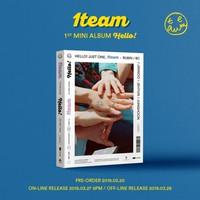 1TEAM - HELLO! (1ST MINI ALBUM)