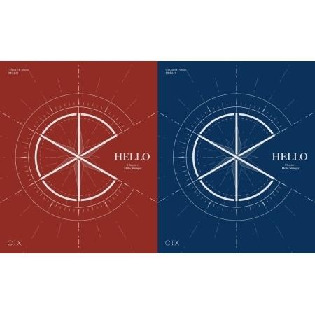 CIX - HELLO CHAPTER 1 : HELLO, STRANGER (1ST EP)