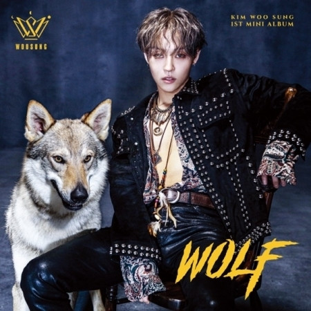 KIM WOO SUNG - WOLF (1ST MINI ALBUM)