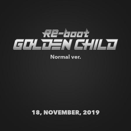 GOLDEN CHILD – RE-BOOT(1ST ALBUM) NORMAL VER.
