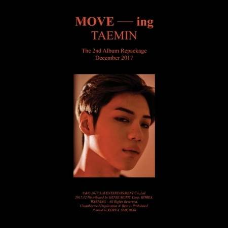 TAEMIN - MOVE-ING (2ND ALBUM REPACKAGE)
