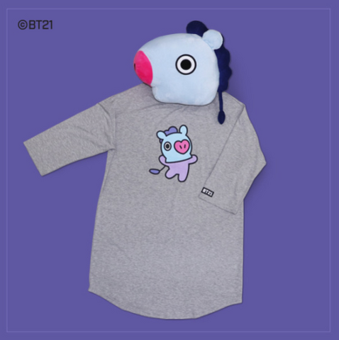 BT21 - HUNT COTTON ONE-PIECE - MANG