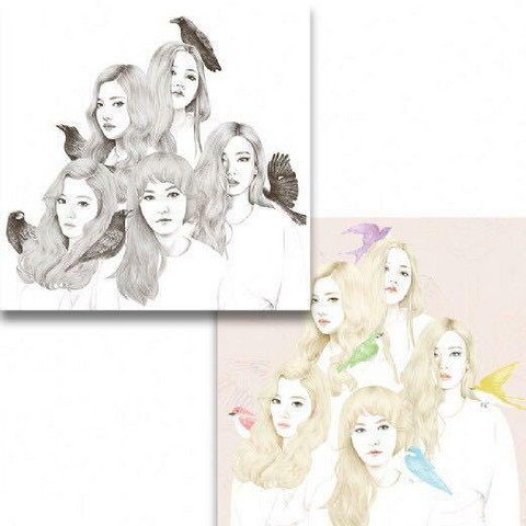 RED VELVET -  ICE CREAM CAKE (1ST MINI ALBUM)