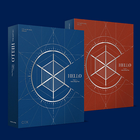 CIX - HELLO CHAPTER 2. HELLO, STRANGE PLACE (2ND MINI ALBUM)