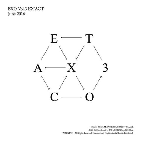 EXO - EX'ACT (3RD ALBUM) KOREAN VER.
